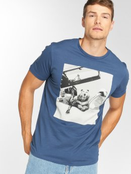 Jack & Jones T-Shirt jorVirtual bleu