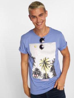 Jack & Jones T-Shirt jorRailroad bleu