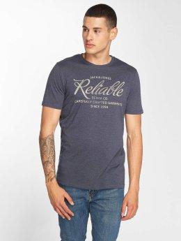 Jack & Jones T-Shirt jjeJeans bleu