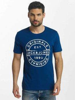 Jack & Jones T-Shirt jorSlack bleu