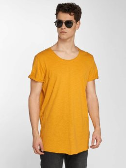 Jack & Jones t-shirt jjeBas geel