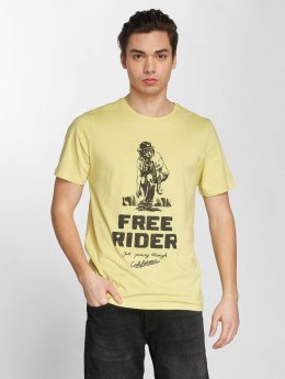 Jack & Jones T-Shirt jorFelt gelb