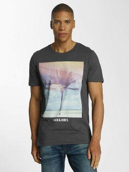 Jack & Jones T-Shirt jorCreek grau