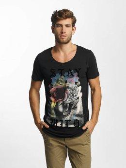 Jack & Jones T-Shirt jorEdge grau