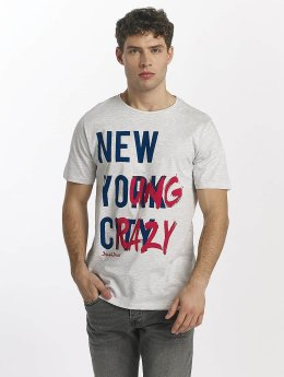 Jack & Jones T-Shirt jorBigapple grau