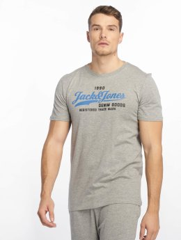 Jack & Jones T-Shirt jjeLogo grau
