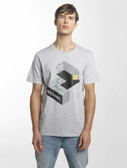 Jack & Jones T-Shirt jcoMateo grau