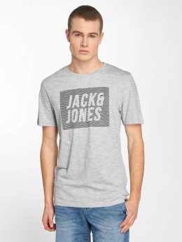 Jack & Jones T-Shirt jcoToby grau