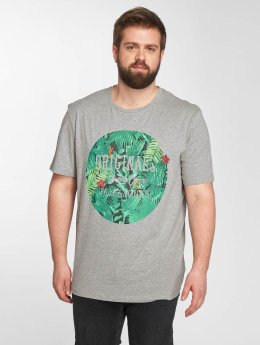Jack & Jones T-Shirt jorGarden grau