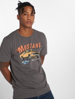 Jack & Jones T-Shirt Jormustang grau