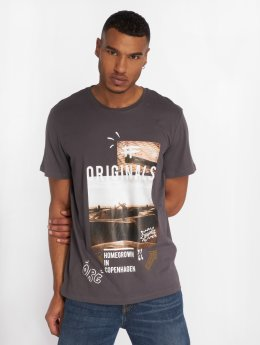 Jack & Jones T-Shirt Jormisty grau