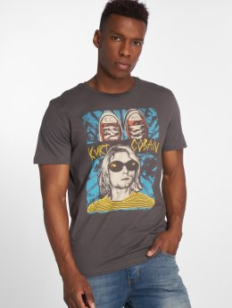 Jack & Jones T-Shirt Jorrocked grau