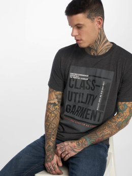 Jack & Jones T-Shirt jcoDenim grau
