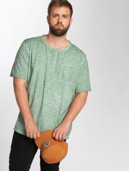 Jack & Jones jorCali Grandad T-Shirt Iceberg Green