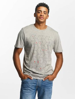 Jack & Jones t-shirt jjcoConcept grijs