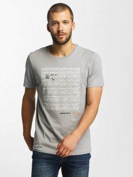 Jack & Jones t-shirt jcoCharge grijs