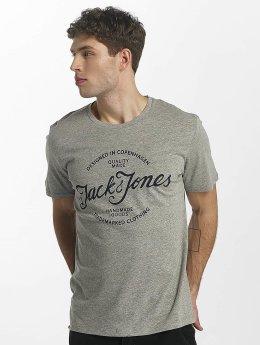 Jack & Jones t-shirt jorNewraffa grijs
