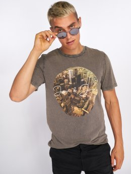 Jack & Jones t-shirt jorCityAcid grijs