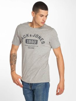 Jack & Jones t-shirt jjeJeans grijs