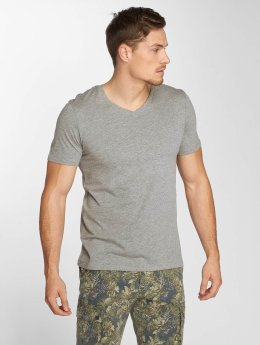 Jack & Jones t-shirt jjePlain grijs