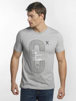 Jack & Jones t-shirt jcoLucas grijs