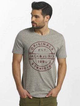 Jack & Jones t-shirt jorSlack grijs