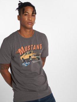 Jack & Jones t-shirt Jormustang grijs