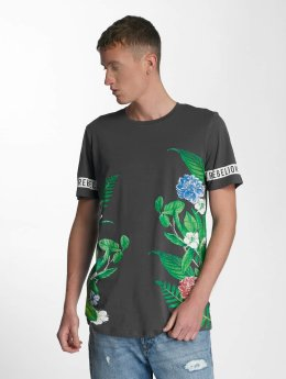 Jack & Jones T-Shirt jorBotanical gris