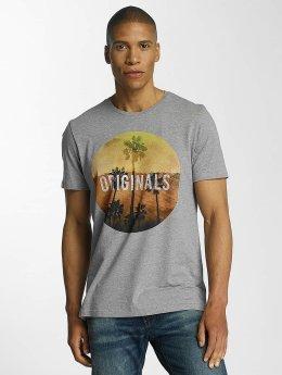 Jack & Jones T-Shirt jorCreek gris