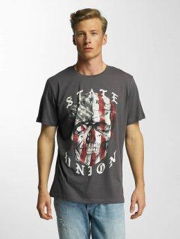 Jack & Jones T-Shirt jjorSawe  gris