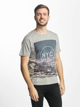 Jack & Jones jjorPreen T-Shirt Light Grey Melange