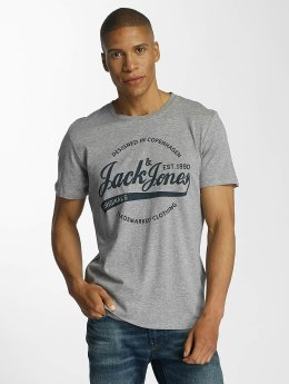 Jack & Jones T-Shirt jorNyraffa gris