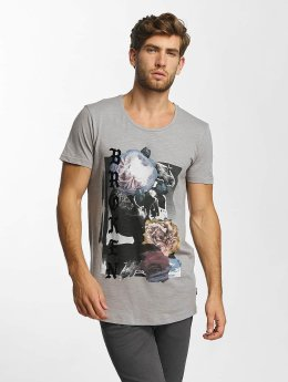 Jack & Jones T-Shirt jorEdge gris