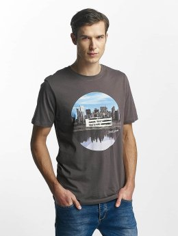 Jack & Jones T-Shirt jorWaterr gris