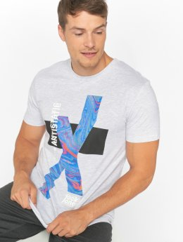Jack & Jones T-Shirt jcoKick gris