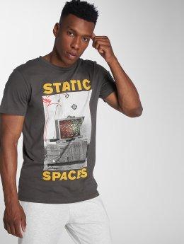 Jack & Jones T-Shirt Jorzeal gris