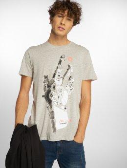 Jack & Jones T-Shirt jcoDatas gris