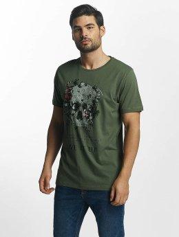 Jack & Jones t-shirt Scully groen