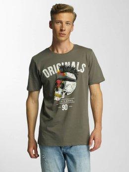 Jack & Jones T-Shirt jjorFaster grün