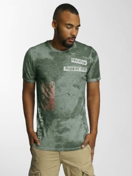 Jack & Jones T-Shirt jorPunkbox grün