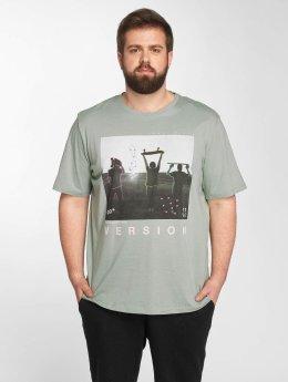 Jack & Jones T-Shirt jorCityoutline grün