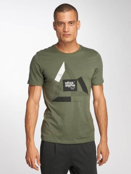 Jack & Jones T-Shirt jcoBoshof grün