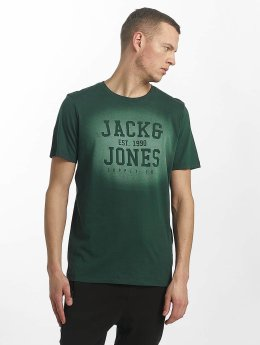 Jack & Jones T-Shirt jorStencild grün