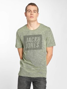 Jack & Jones T-Shirt jcoToby grün