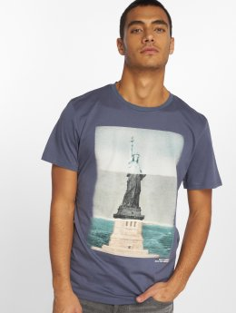Jack & Jones T-shirt Jorcurrent indaco