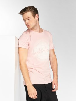 Jack & Jones T-Shirt jorReji magenta