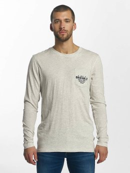Jack & Jones T-Shirt manches longues jorTap blanc