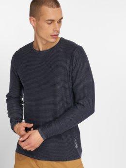 Jack & Jones T-Shirt manches longues Jorlaundry bleu