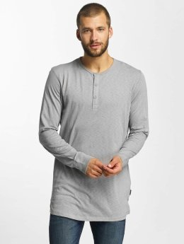 Jack & Jones T-Shirt manches longues jorStitch gris