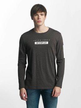 Jack & Jones T-Shirt manches longues jcoScend gris